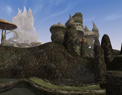 seriously In this case, my feeling is Morrowind is so obviously graphically fudging it ...