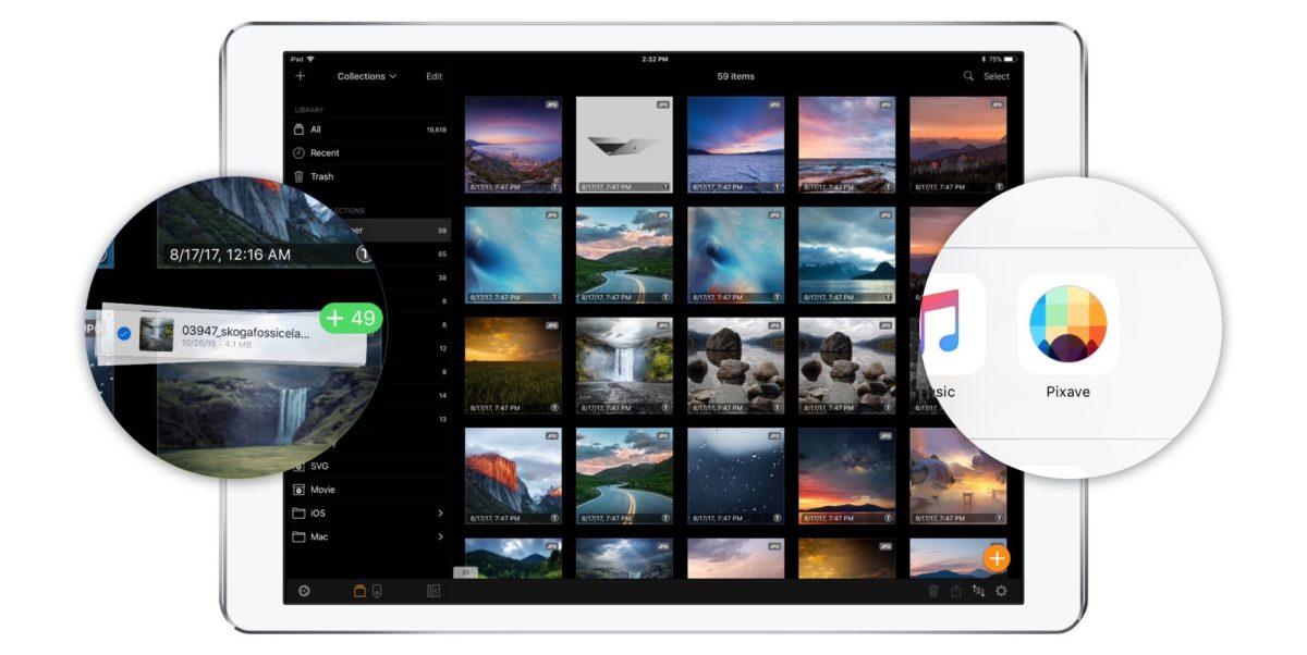Pixave: iOS-Bildverwaltung mit viel Potential und (noch) einigen Tücken
